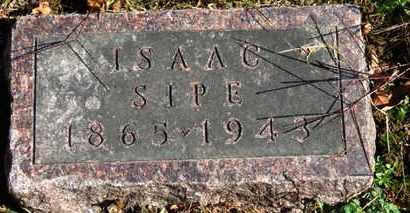 SIPE, ISAAC - Morrow County, Ohio | ISAAC SIPE - Ohio Gravestone Photos