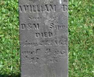 SIPE, WILIAM D. - Morrow County, Ohio | WILIAM D. SIPE - Ohio Gravestone Photos