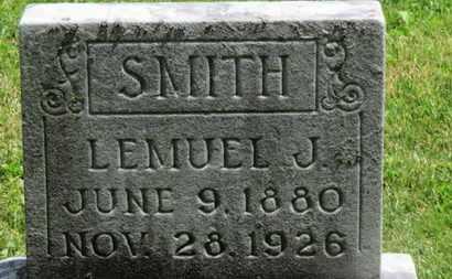 SMITH, LEMUEL J. - Morrow County, Ohio | LEMUEL J. SMITH - Ohio Gravestone Photos