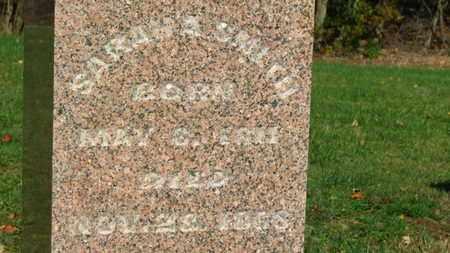 SMITH, SARAH A. - Morrow County, Ohio   SARAH A. SMITH - Ohio Gravestone Photos