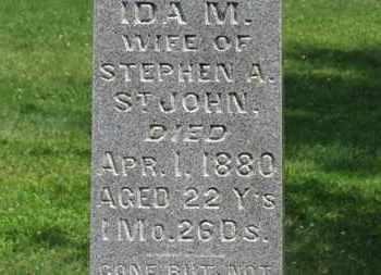 ST. JOHN, IDA M. - Morrow County, Ohio | IDA M. ST. JOHN - Ohio Gravestone Photos