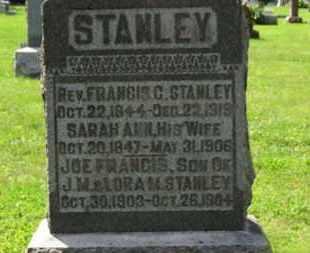 STANLEY, J.M. - Morrow County, Ohio | J.M. STANLEY - Ohio Gravestone Photos
