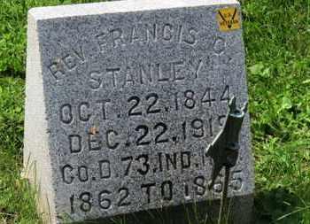STANLEY, REV. FRANCIS C. - Morrow County, Ohio   REV. FRANCIS C. STANLEY - Ohio Gravestone Photos