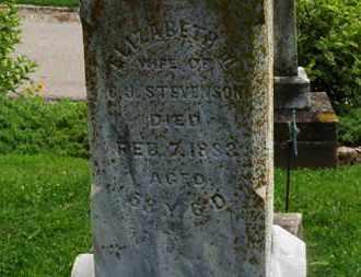 STEVENSON, C.J. - Morrow County, Ohio   C.J. STEVENSON - Ohio Gravestone Photos