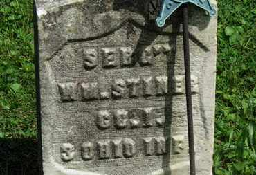 STINER, WM. - Morrow County, Ohio | WM. STINER - Ohio Gravestone Photos