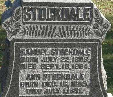 STOCKDALE, SAMUEL - Morrow County, Ohio | SAMUEL STOCKDALE - Ohio Gravestone Photos