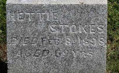 STOKES, HETTIE - Morrow County, Ohio | HETTIE STOKES - Ohio Gravestone Photos