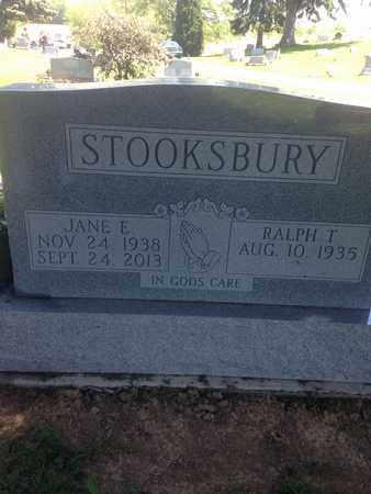 STOOKSBURY, JANE - Morrow County, Ohio | JANE STOOKSBURY - Ohio Gravestone Photos