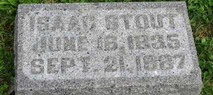 STOUT, ISAAC - Morrow County, Ohio | ISAAC STOUT - Ohio Gravestone Photos