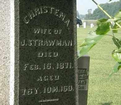 STRAWMAN, CHRISTENA - Morrow County, Ohio | CHRISTENA STRAWMAN - Ohio Gravestone Photos
