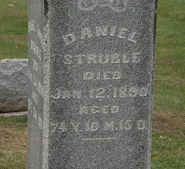 STRUBLE, DANIEL - Morrow County, Ohio | DANIEL STRUBLE - Ohio Gravestone Photos