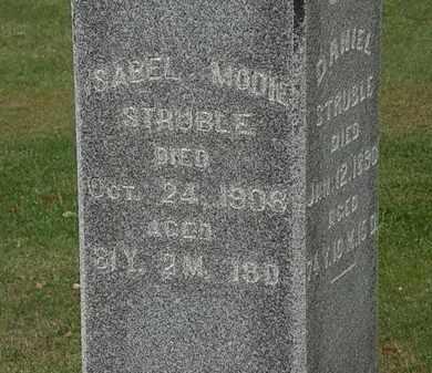 MODIE STRUBLE, ISABEL - Morrow County, Ohio | ISABEL MODIE STRUBLE - Ohio Gravestone Photos