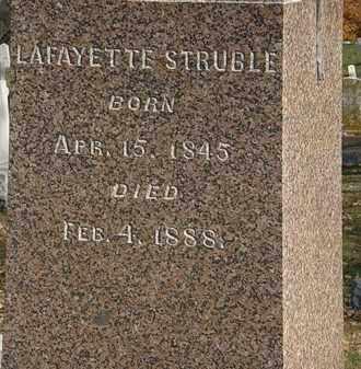 STRUBLE, LAFAYETTE - Morrow County, Ohio | LAFAYETTE STRUBLE - Ohio Gravestone Photos