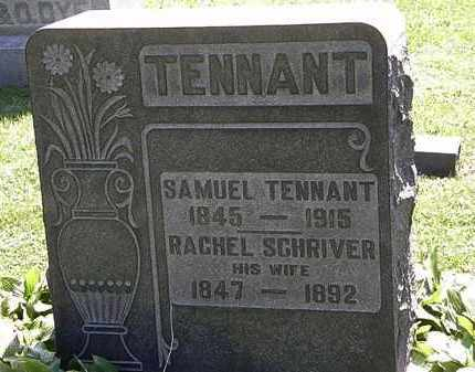 TENNANT, SAMUEL - Morrow County, Ohio   SAMUEL TENNANT - Ohio Gravestone Photos