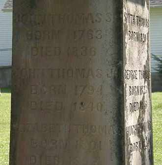 THOMAS, ELIZABETH - Morrow County, Ohio | ELIZABETH THOMAS - Ohio Gravestone Photos