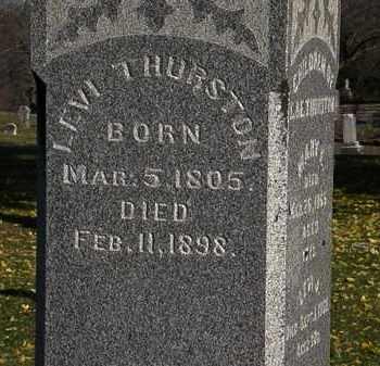 THURSTON, LEVI - Morrow County, Ohio | LEVI THURSTON - Ohio Gravestone Photos