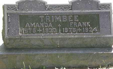 TRIMBEE, AMANDA - Morrow County, Ohio | AMANDA TRIMBEE - Ohio Gravestone Photos