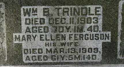 TRINDLE, MARY ELLEN - Morrow County, Ohio | MARY ELLEN TRINDLE - Ohio Gravestone Photos