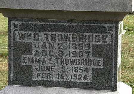 TROWBRIDGE, WM. D. - Morrow County, Ohio | WM. D. TROWBRIDGE - Ohio Gravestone Photos