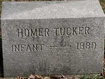 TUCKER, HOMER - Morrow County, Ohio   HOMER TUCKER - Ohio Gravestone Photos