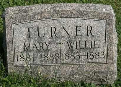 TURNER, WILLIE - Morrow County, Ohio | WILLIE TURNER - Ohio Gravestone Photos