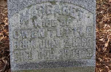 TUTTLE, MARGARET - Morrow County, Ohio | MARGARET TUTTLE - Ohio Gravestone Photos