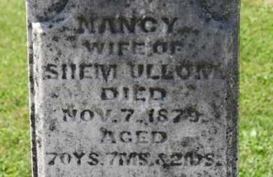 ULLOM, NANCY - Morrow County, Ohio   NANCY ULLOM - Ohio Gravestone Photos