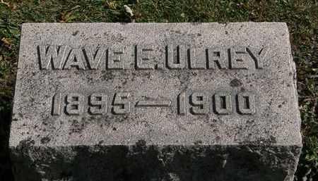 ULREY, WAVE E. - Morrow County, Ohio | WAVE E. ULREY - Ohio Gravestone Photos