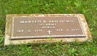 VANDORN, MARVEN B - Morrow County, Ohio | MARVEN B VANDORN - Ohio Gravestone Photos