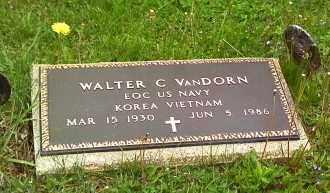 VANDORN, WALTER C - Morrow County, Ohio   WALTER C VANDORN - Ohio Gravestone Photos