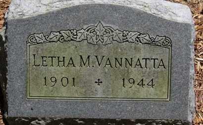 VANNATTA, LETHA M. - Morrow County, Ohio | LETHA M. VANNATTA - Ohio Gravestone Photos