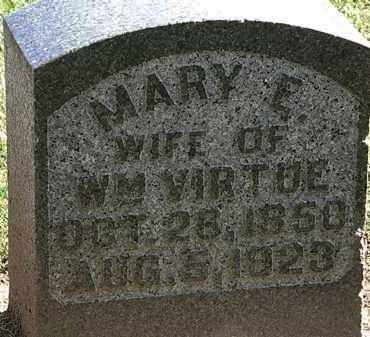 VIRTUE, MARY E. - Morrow County, Ohio | MARY E. VIRTUE - Ohio Gravestone Photos