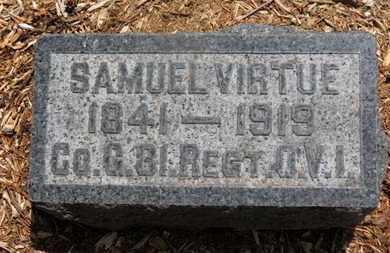 VIRTUE, SAMUEL - Morrow County, Ohio   SAMUEL VIRTUE - Ohio Gravestone Photos