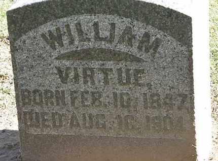 VIRTUE, WILLIAM - Morrow County, Ohio   WILLIAM VIRTUE - Ohio Gravestone Photos