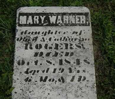 WARNER, MARY - Morrow County, Ohio | MARY WARNER - Ohio Gravestone Photos