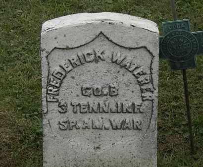 WATERER, FREDERICK - Morrow County, Ohio | FREDERICK WATERER - Ohio Gravestone Photos