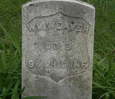 WEAVER, WM. - Morrow County, Ohio | WM. WEAVER - Ohio Gravestone Photos