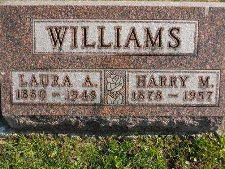 WILLIAMS, LAURA A - Morrow County, Ohio | LAURA A WILLIAMS - Ohio Gravestone Photos