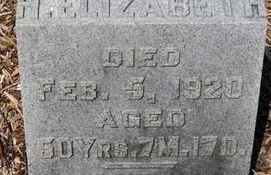 WILLIAMSON, H. ELIZABETH - Morrow County, Ohio | H. ELIZABETH WILLIAMSON - Ohio Gravestone Photos
