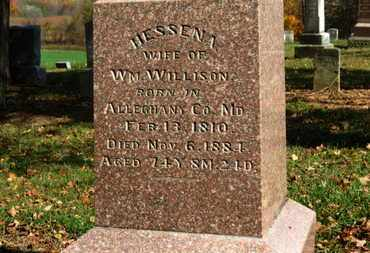 WILLISON, HESSENA - Morrow County, Ohio | HESSENA WILLISON - Ohio Gravestone Photos