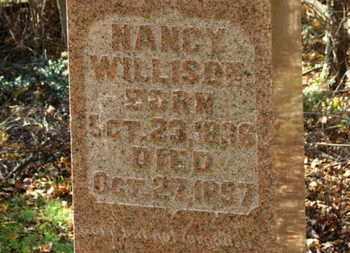 WILLISON, NANCY - Morrow County, Ohio | NANCY WILLISON - Ohio Gravestone Photos