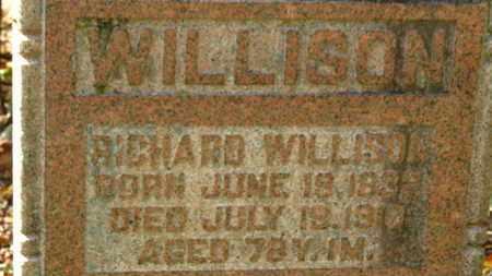 WILLISON, RICHARD WILLIS - Morrow County, Ohio | RICHARD WILLIS WILLISON - Ohio Gravestone Photos