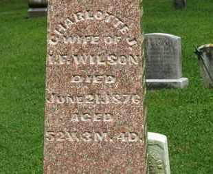 WILSON, CHARLOTTE J. - Morrow County, Ohio   CHARLOTTE J. WILSON - Ohio Gravestone Photos