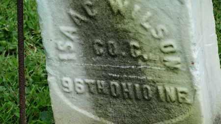 WILSON, ISAAC - Morrow County, Ohio | ISAAC WILSON - Ohio Gravestone Photos