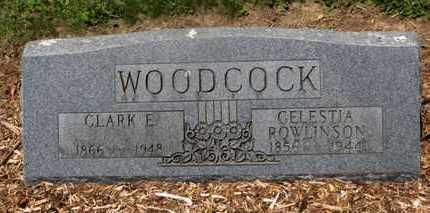 ROWLINSON WOODCOCK, CELESTIA - Morrow County, Ohio | CELESTIA ROWLINSON WOODCOCK - Ohio Gravestone Photos