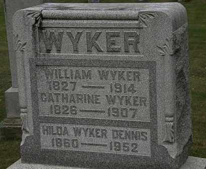 WYKER DENNIS, HILDA - Morrow County, Ohio | HILDA WYKER DENNIS - Ohio Gravestone Photos