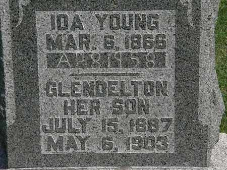 YOUNG, IDA - Morrow County, Ohio | IDA YOUNG - Ohio Gravestone Photos