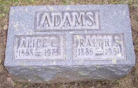 ADAMS, ALICE E. - Muskingum County, Ohio | ALICE E. ADAMS - Ohio Gravestone Photos