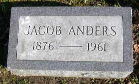 ANDERS, JACOB - Muskingum County, Ohio   JACOB ANDERS - Ohio Gravestone Photos