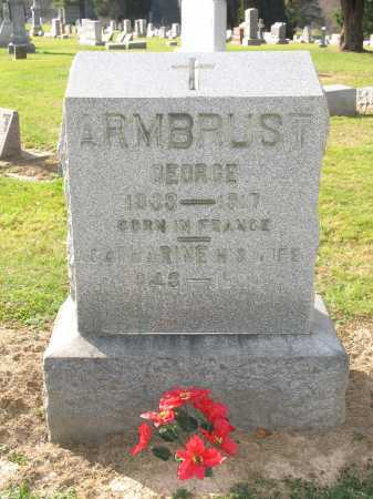 ARMBRUST, GEORGE - Muskingum County, Ohio | GEORGE ARMBRUST - Ohio Gravestone Photos